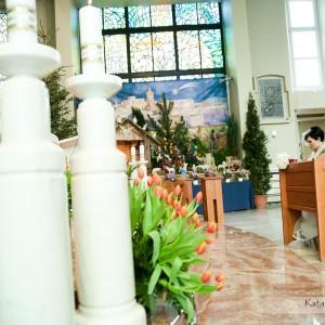 Zdjęcia z kościoła, ale także plener ślubny to najlepsza pamiątka ze ślubu w Bielsku, którą będziemy mieć na całe życie