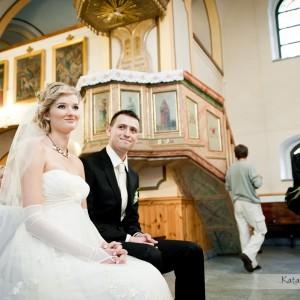 Oprócz zdjęć z kościoła i wesela ich pamiątką będzie także plener ślubny wykonany po ceremonii na starówce Bielska