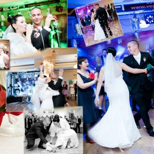 Zdjęcia ze ślubu i przyjęcia weselnego Karoliny i Marka które trwało do białego rana w Bielsku-Białej