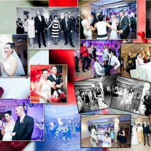Reportaż ślubny z wesela Karoliny i Marka pokazuje dobrą zabawę na przyjęciu w Bielsku