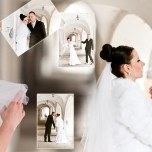 Fotograf ślubny uchwycił w obiektywnie Karolinę i Marka na sesji plenerowej wykonanej na starówce Bielska