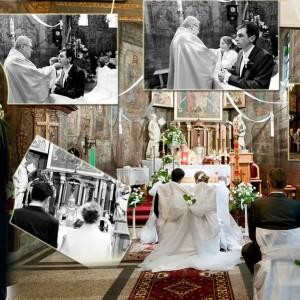 Reportaż ślubny zawiera zdjęcia z przyjęcia weselnego po ślubie Agaty i Rafała, które odbyło się w Bielsku-Białej