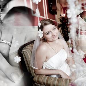 Fotograf uchwycił w obiektywie przygotowania Klaudii i Michała do ślubu, który odbył się w Bielsku