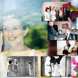 Na fotografiach ślubnych zostały uwiecznione wszystkie najważniejsze momenty ślubu Klaudii i Michała z Bielska