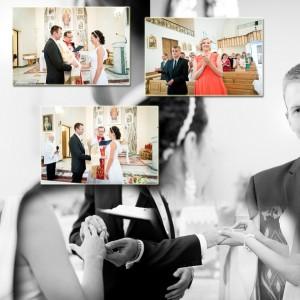 Fotograf ślubny został zaproszony na ślub Klaudii i Michała aby uwiecznić ich ceremonię w Bielsku-Białej