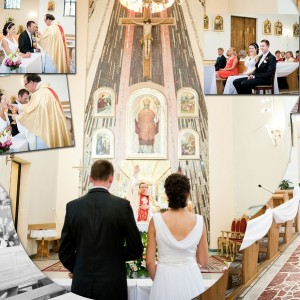 Na fotografiach ślubnych Klaudii i Michała nie mogło zabraknąć momentu pierwszego tańca na weselu w Bielsku