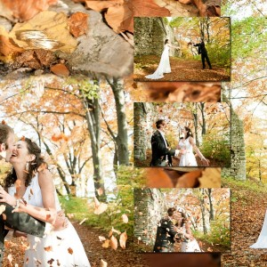 Na zdjęciach ze ślubu Daria i Paweł podczas ceremonii zawarcia małżeństwa, która odbyła się w Bielsku