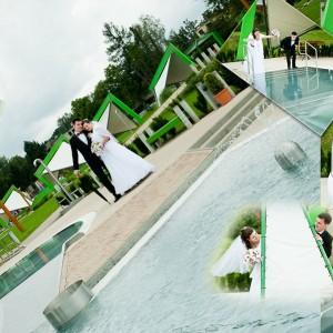 Plener ślubny Darii i Pawła z Bielska odbył się według życzenia nowożeńców na plaży w romantycznej scenerii