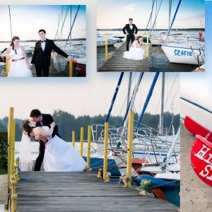 Zdjęcia ze ślubu Kamili i Darka pokazują przygotowania do ślubu w ich rodzinnych domach w Bielsku-Białej