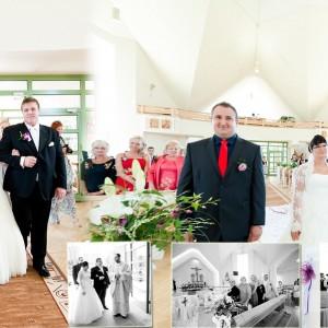 Dzięki fotografowi ślubnemu najważniejsze momenty ze ślubu w Bielsku zostały uwiecznione na zdjęciach