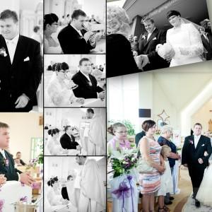 Sesja ślubna wykonana w plenerze uchwyciła Kamilę i Darka w bajkowej scenerii pod Bielskiem