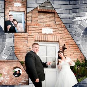 Zdjęcia ślubne Kamili i Darka wykonane podczas romantycznej sesji ślubnej pod Bielskiem