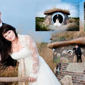 Reportaż ślubny składa się także z sesji plenerowej wykonanej nowożeńcom z Bielska-Biała