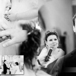 Reportaż ze ślubu zawartego przez Wiktorię i Kamila w kościele w Bielsku-Białej w ubiegłym roku