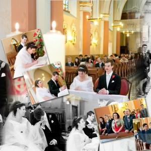 Zdjęcia ze ślubu Wiktorii i Kamila, który odbył się w Bielsku są wspaniałą pamiątką na całe życie dla małżonków