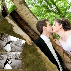 Plener ślubny Wiktorii i Kamila w romantycznej scenerii wykonany został pod Bielskiem-Białą