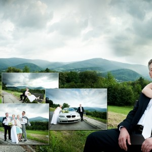 Reportaż ze ślubu zawartego przez Kasię i Norberta w kościele w Bielsku-Białej w ubiegłym roku