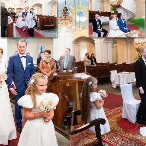 Zdjęcia ze ślubu Kasi i Norberta, który odbył się w Bielsku są wspaniałą pamiątką na całe życie dla małżonków