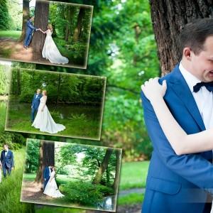 Plener ślubny Kasi i Norberta został wykonany w ubiegłym roku w Bielsku-Białej po ich ślubie