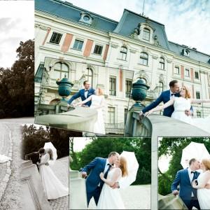 Reportaż ze ślubu zawartego przez Olgę i Maćka w kościele w Bielsku-Białej w ubiegłym roku