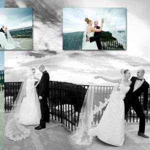 Na zdjęciach ślubnych nie może zabraknąć także pleneru, który uzupełnia album ze ślubu Magdy i Olka z Bielska