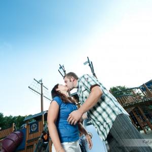 Sesja narzeczeńska łączy się ze zdjęciami ze ślubu w Bielsku i razem tworzą pamiątkę z tego cudownego okresu w życiu