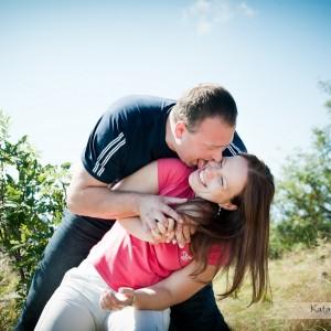 Zdjęcia ślubne to także sesja narzeczeńska, która może być zrobiona na przykład w górskiej scenerii pod Bielskiem-Białą