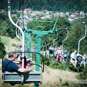 Uzupełnieniem pamiątkowych fotografii ze ślubu w Bielsku będzie reportaż ślubny wykonany w pięknych okolicznościach przyrody