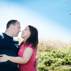 Do reportażu ślubnego warto dołączyć zdjęcia zrobione jeszcze przed ślubem w Bielsku, na przykład na sesji plenerowej