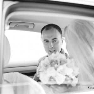 Do reportażu ślubnego zaliczają się fotografie na przykład z przejazdu do kościoła w Bielsku-Białej
