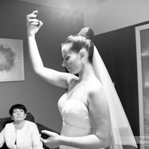 Mimo, że główna sesja to plener ślubny warto także mieć fotografie z przygotowań do ślubu w Bielsku-Białej