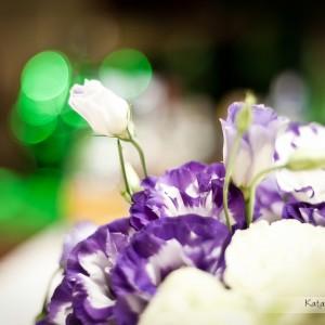 Wszystkie detale dekoracji sali weselnej na zdjęciach uchwycił fotograf ślubny z Bielska-Białej