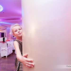 Na zdjęciach ślubnych znajdą się także najmłodsi goście obecni na weselu Agnieszki i Piotra z Bielska