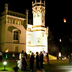 Zdjęcia do pleneru ślubnego można zrobić także w trakcie wesela, tak jak u Magdy i Pawła w Bielsku-Białej