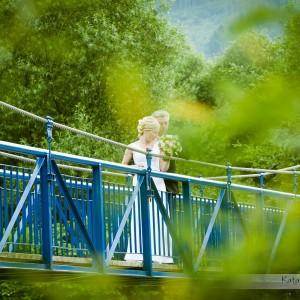Profesjonalna fotografia ślubna to także zdjęcia robione na sesji plenerowej po ślubie na przykład w Bielsku-Białej
