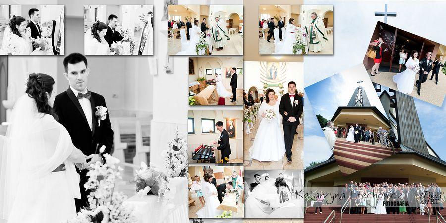 Fotograf na wesele Bielsko-Biała kolaż z najpiękniejszymi momenatmi