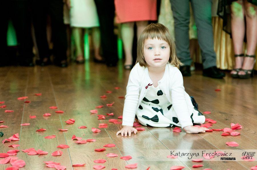 Fotograf na wesele Bielsko-Biała mały gość na weselu